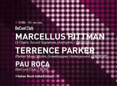 Marcellus Pittman + Terrence Parker (Barcelona)