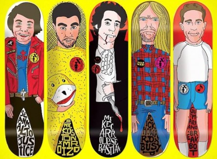 Girl Skateboards x Ed Banger Records