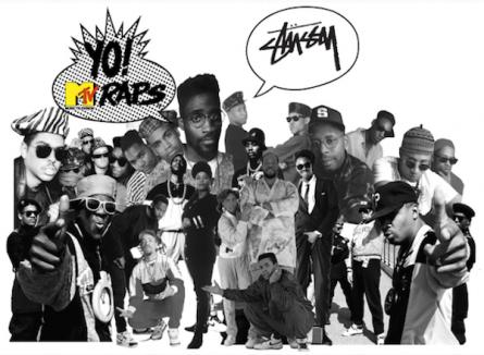 Stussy x YO! MTV RAPS