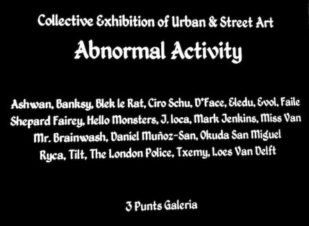Abnormal Activity (Barcelona)