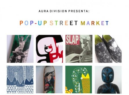 Aura Division Pop-Up Street Market (Barcelona)
