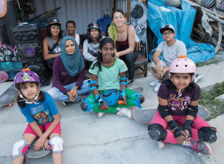 The power of girls skateboarding in India