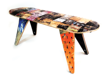 SHUT x Deckstool Custom Deck Bench