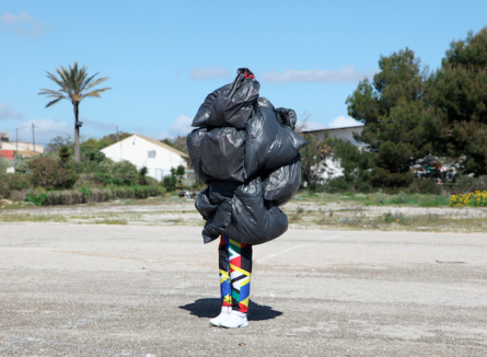 Black Rubbish Is The Future by Grip Face