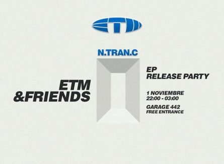 ETM & Friends presenta N-Tran-C EP Release Party (Barcelona)