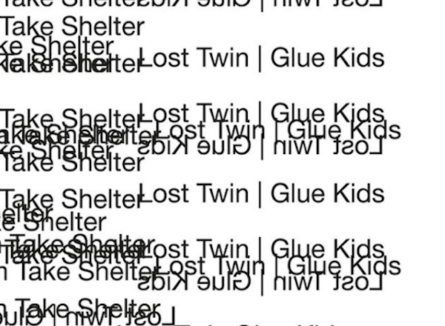 "Lost Twin & Glue Kids presentan ""Take Shelter"""