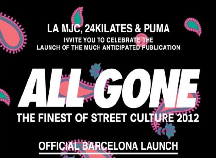 ALL GONE – Barcelona