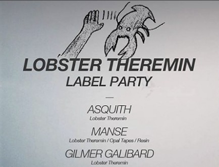 Lobster Theremin Label Party
