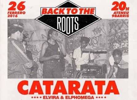 "Catarata ""Back To The Roots"" (Barcelona)"
