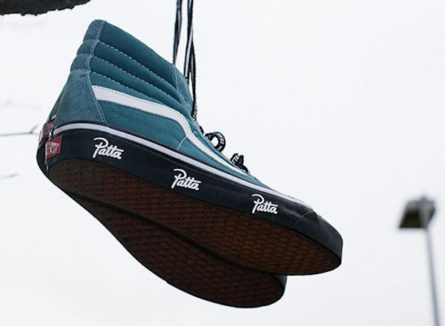 Patta X Vans SK8 HI Collection