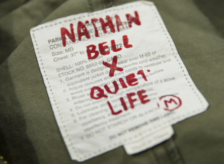 Nathan Bell for The Quiet Life