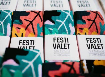 Laser Barcelona X Festivalet (Limited Socks)