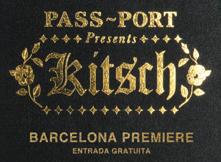"Premier Pass-Port vídeo ""Kitsch"" (Barcelona)"