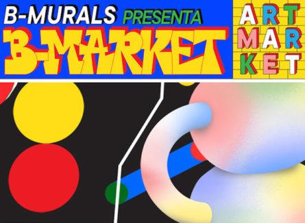 Arte independiente en B-MARKET los próximos 6 y 7 de marzo  (Barcelona)
